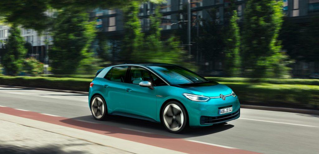 Nuova volkswagen ID.3 2020 mercato automotive