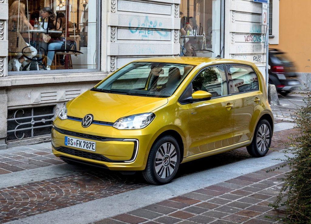 nuova volkswagen e-up! elettrica MERCATO AUTOMOTIVE